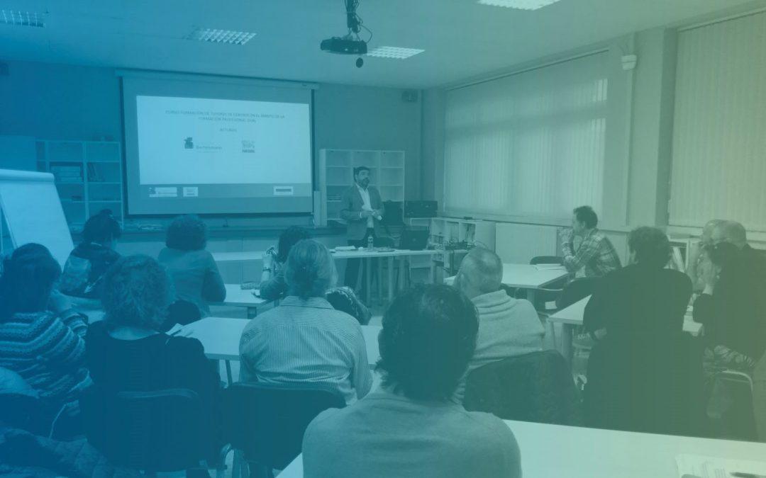 Formación de tutores de centro en Asturias